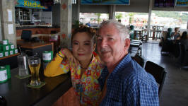 Bern and Meow at The Pattaya Beer Garden
