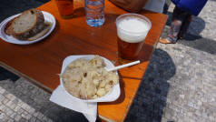 Halusky and Pivo