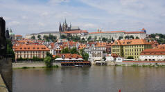 Vltava River - Prague Castle