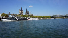 Rhine River, Cologne, Germany