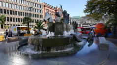 Bremen Market Fountain