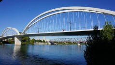 Rhine Pedestrian Bridge - Connecting France and Germany