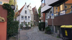 Schnoor District Bremen